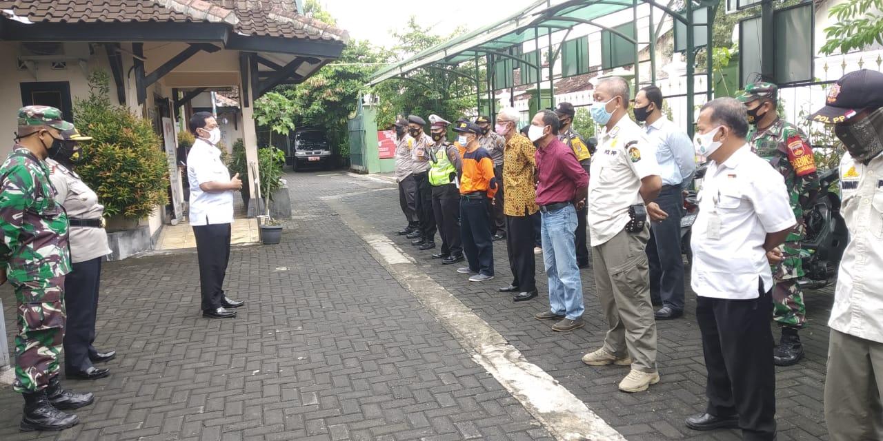 Penegakan Protokol Covid-19 Kelurahan Kadipaten Kecamatan Kraton