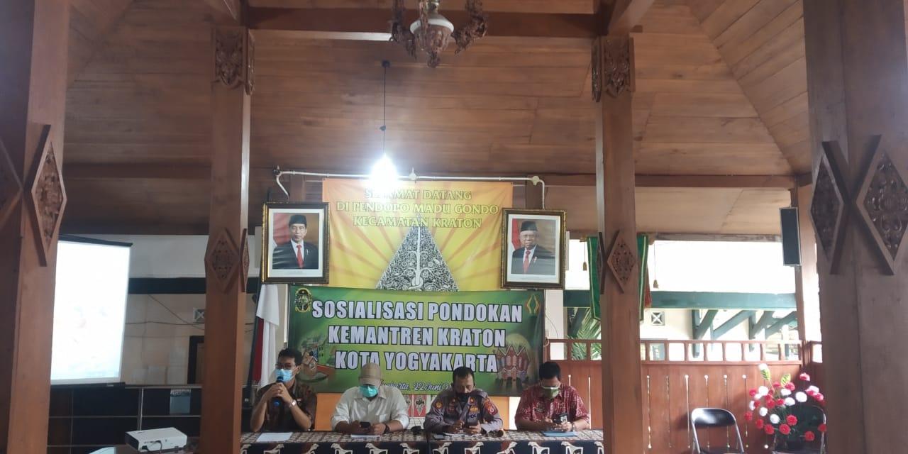 Kemantren Kraton Gelar Kegiatan Sosialisasi Pondokan.