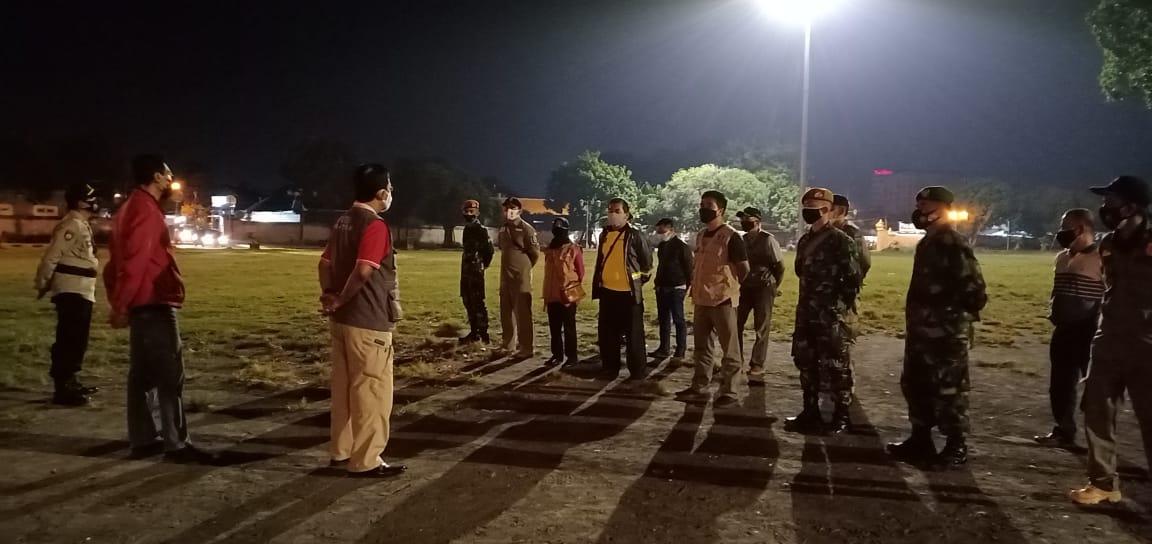 Pelaksanaan Monitoring PPKM Darurat Di Wilayah Kemantren Kraton Yogyakarta.
