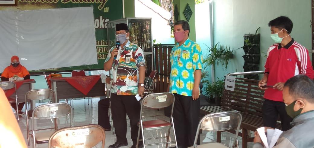 Penyaluran BST Di Wilayah Kemantren Kraton Yogyakarta.