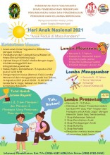 Lomba Memperingati Hari Anak Nasional (HAN) 2021